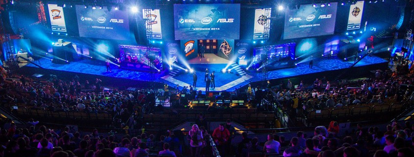 The stage at IEM Katowice 2014