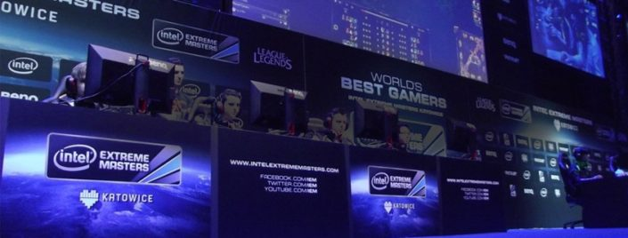 Competitors at IEM Katowice 2015.