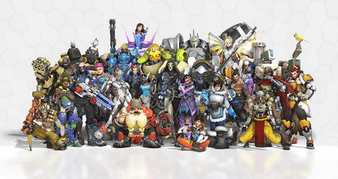 Overwatch Heroes Age & Height