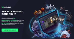 Luckbox - Esports Betting Done right